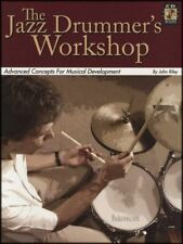 The Jazz Drummer's Workshop Drum Music Book/CD by John Riley