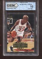Michael Jordan 1995-96 Fleer Ultra #25 HOF Chicago Bulls GEM MINT 10