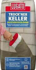 Lugato Trock'ner Keller Dichtungsschlämme Wasserdichte Abdichtung Keller 25 kg
