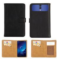 Handy Tasche Für Gigaset GS110 Schutz Hülle Flip Cover Case Wallet Etui XL - KL