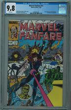 MARVEL FANFARE #11 CGC 9.8 BEST CGC COPY PEREZ COVER WHITE PGS 1983 005