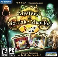 MYSTERY OF MORTLAKE MANSION 3 GAME PACK  Hidden Object  Brand New Sealed