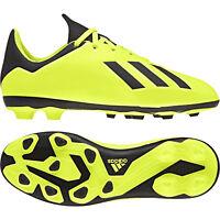 Adidas Kids Shoes Boys Soccer X 18.4 Flexible Ground Football Boots DB2420 New