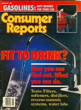 1990 Consumer Reports Magazine: Clean Water?/Best Gasolines for Your Car/Filters