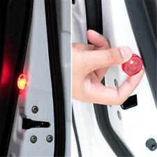 2pcs/set Wireless Car Door Warning Light Red Strobe Flashing LED Rear-end Lamp