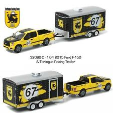Greenlight 2015 Ford F-150 & Terlingua Racing Trailer Diecast 1:64 32090 C NEW!!