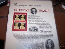 NIP American Commemoratives Executive Branch Stamps