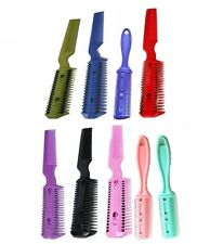 Hair Razor Comb,UK Stock,Cut own hair at home/Hairdressing/Thinning/Trim/Feather