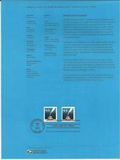 # 4496  PATRIOTIC QUILL AND INKWELL 2011 Official Souvenir Page