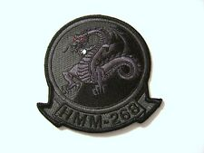 USMC PATCH - HMM-268 HELICOPTER SQUADRON SUBDUED COLOR:GA14-1
