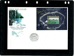 Papua New Guinea.Stamps. First Day.Mini Sheet. Cover.2010.