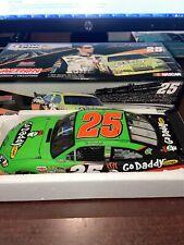 XRare 2009 Brad Keselowski #25 GoDaddy.com Impala SS COT 1/24 Action NASCAR MIB