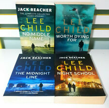 Lot of 4x Jack Reacher Trade Paperback Large Books by Lee Child!