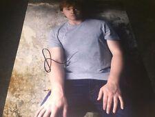 Rupert Grint Actor Hand Signed 11x14 Photo COA Harry Potter Movies Look RG Proof