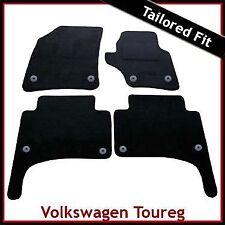 VOLKSWAGEN VW TOUAREG MONTATO SU MISURA MOQUETTE AUTO MAT (2003... 2008 2009) Rotondo