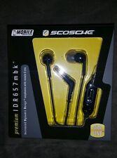 "Scosche earphones IDR657MBK - Premium phone dynamic range  ""72 hour sale""$30 STR"
