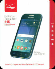 NEW sealed unopened Samsung GALAXY J1 Blue 8GB Android VERIZON PREPAID PHONES