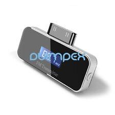 F06 Auto Kfz FM Transmitter für Iphone 4S 4 Ipod Ipad mit KFZ Netzteil