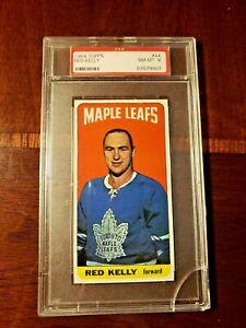 1964 Topps Hockey Red Kelly #44 PSA 8