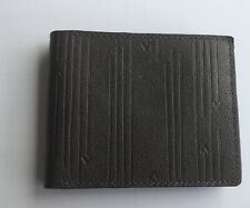 Fossil Scout Travel RFID Men's Wallet- Tri-fold- Olive color- Arrows leather