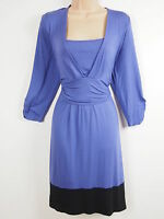 BNWT Gorgeous Colour Block Jersey Stretch Dress Size 20 AND 22 - Stretch