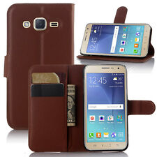 Flip Wallet PU Leather Case Stand Cover For Samsung Galaxy J1 ACE J110H /J2 J200
