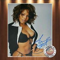 Janet Jackson Autographed Signed 8x10 Photo REPRINT