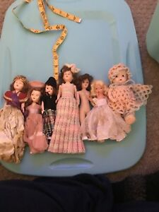 Lot Of Vintage Dolls Nice!!
