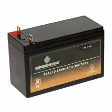 12V 9AH Sealed Lead Acid Battery T3 Nut & Bolt for Generac XP8000 Generator