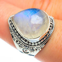 Rainbow Moonstone 925 Sterling Silver Ring Size 8 Ana Co Jewelry R44448F
