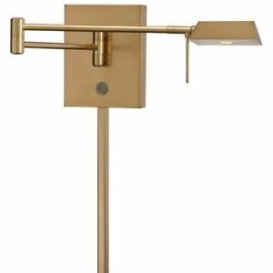 George Kovacs P4318-248 George's Reading Room 1-Light LED Wall Sconce Honey Gold