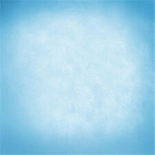 10x10FT Sky Blue Color Abstract Wall Custom Photo Background Backdrop Vinyl