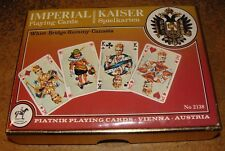 Platnik IMPERIAL KAISER No.2138 Playing Cards 2 packs in display box