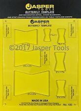 Jasper Tools Model-100 Butterfly Template