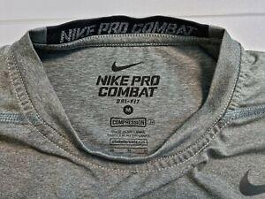 Nike Pro Combat Dri Fit Compression Vest, In Grey - M/ New Untagged