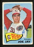 Joe Jay #174 signed autograph auto 1965 Topps Baseball Trading Card
