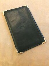 Document Holder Notepad Authentic New Audemars Piguet Black Leather Wallet