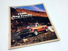 1980 Jeep Trucks J-10 J-20 Brochure