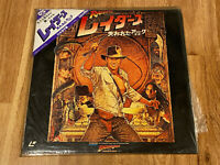 Indiana Jones: Raiders of the Lost Ark (1981) JAPAN Ver LaserDisc Laser Disc LD