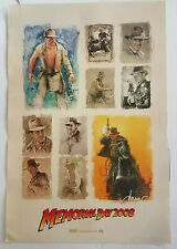 Indiana Jones Promo Memorial Day 2008 Mini Poster Featuring Drew Struzan Art