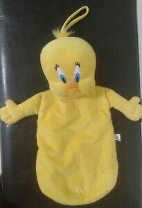 Tweety Bird Hot Water Bottle Holder Looney Tunes 1998 Soft Plush warner bros