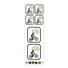 """""""Biker thinking about Beer"""" #bikeporn # bikeporn MTB DH FREERIDE ENDURO STICKER"""