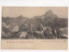 Gruss Aus Den Allgaeuer Bergen Germany Vintage U/B Postcard 104b