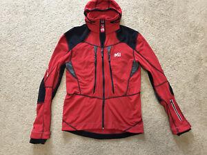 Millet Pierra Ment Jacket Wind Stopper Ski Race Cross Country Mountain Sz M