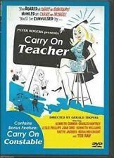 Carry On Teacher/Carry On Constable-Anchor Bay DVD-Region 1-NEW-OOP