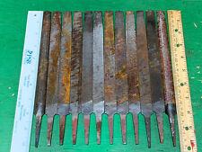 Antique Tools Lot • VINTAGE Metal Files Rasps Blacksmith Metalworking Filing USA
