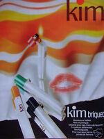 PUBLICITÉ 1978 KIM BRIQUET PETIT ET PRATIQUE - ADVERTISING
