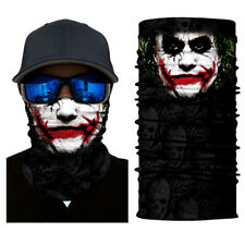 Face Shield Sun Mask Joker Bad Mood Headwear Bandana Fish Neck Gaiter Scarf UV