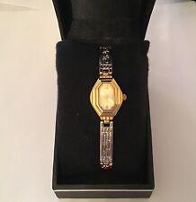 Gold Plated Ladies Quartz Analogue Wristwatch
