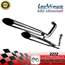 2212 SCARICO COMPLETO LEOVINCE HONDA VT 750 C2 ACE SHADOW 1997-2001 SILVERTAIL K